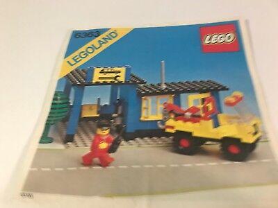 LEGO ® Town Classic Bauanleitung 675 Snack Bar Instruction ungelocht LEGO Minifiguren Baukästen & Konstruktion