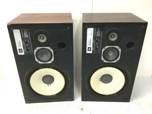 VINTAGE PAIR JBL L100 CENTURY SPEAKERS -- EARLY VERSION -- SOUND GREAT