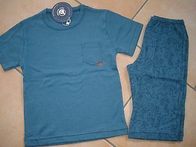 (136) Petit Bateau Boys Pyjama Schlafanzug Bauernhof Motive & Logo Druck 4 Jahre