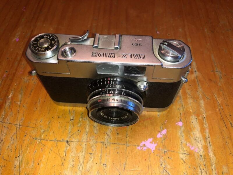 Vintage Rare Collectible Walz Wide 35mm Camera