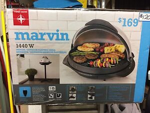 Marvin 1440W Indoor/Outdoor Electric Grill