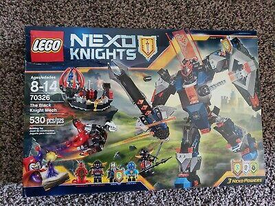 LEGO® Nexo Knights The Black Knight Mech 70326 Retired large set 530 pcs damaged