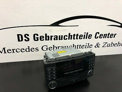 Orig. Mercedes Benz CLK W209 A209 Facelift Audio 20 Radio A2098202689