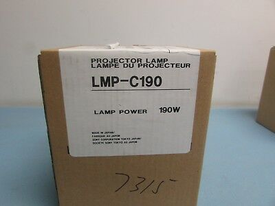 Sony Lmp-c190 Projector Bulb - New In Box Oem Lamp For Many Vpl-cx Series 24c