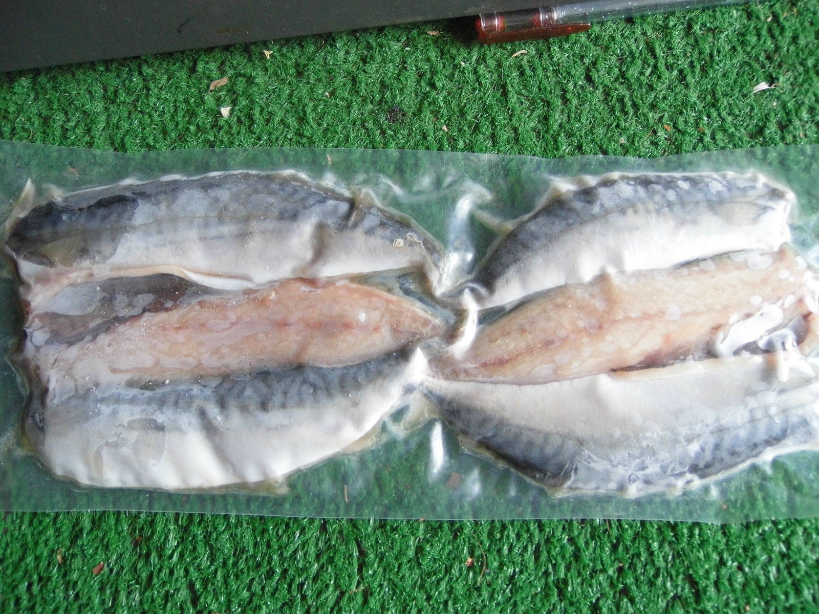 Fish for your pet,frozen Cornish Mackerel Fillets the Natural choice.(4 packs)