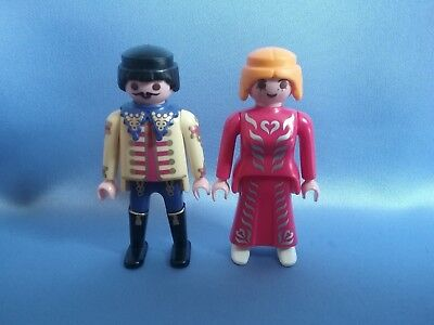 playmobil prince and princess from knights castle and Victorian mansion house  - Knights And Princess