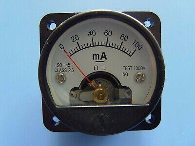 Meter Head So-45 Dc0-100ma Level Meter Voltmeter Head Pointer Voltmeter Head