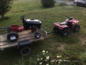 RACING LAWN TRACTOR **(MUST SEE)** NEED GONE