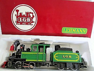 LGB #2017D G Scale Steam Locomotive #6 & Powered Tender w/Box - VGC
