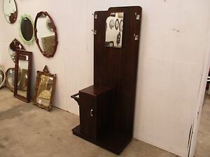 C33050 Vintage ReTRo Art Deco TH BROWN Hall Stand w/ Mirror Unley Unley Area Preview