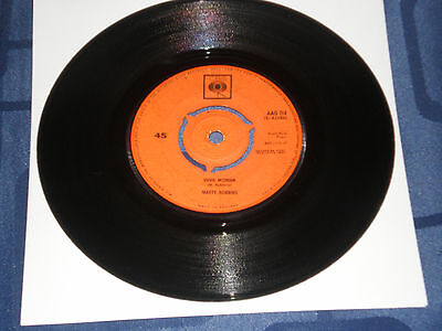 """MARTY ROBBINS - DEVIL WOMAN - 1962 CBS 7"""" SINGLE - COUNTRY CLASSIC - VG+"""