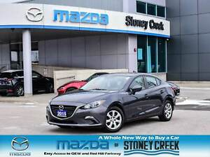 2015 Mazda Mazda3 GX B/T Keyless Push Start