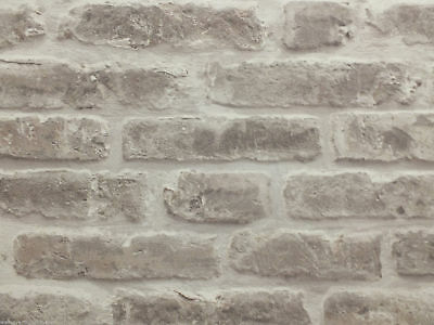 Heavyweight Sculptured Vinyl, 3D Brick Effect Wallpaper