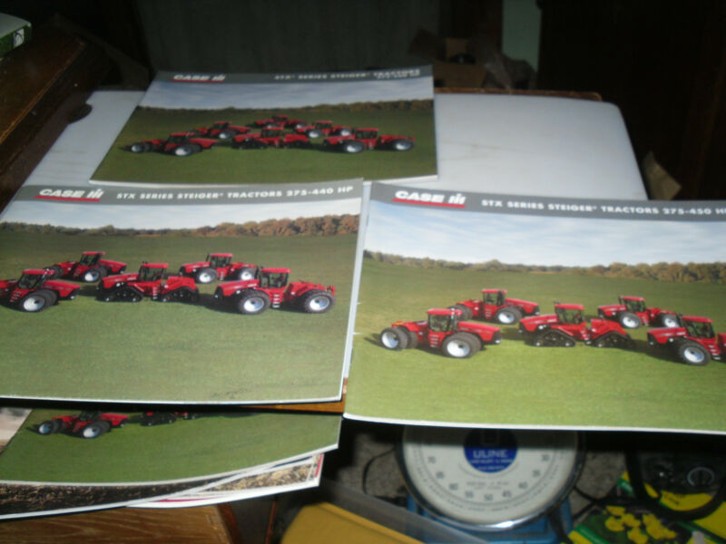 LOT OF 3 Case - IH STX Series Steiger Tractors Brochure
