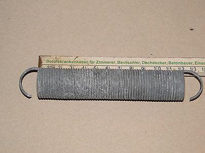 12 Stück Zugfeder   dm 25mm  Drahtst. 2mm