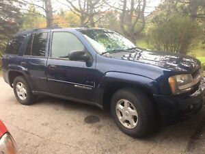 2002 trail blazer in good shape certified and emission tested
