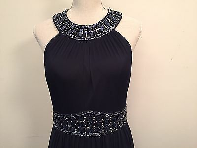 Evening Gowns For Wedding Dresses for a guest Mother Of Bride Size 10 Navy