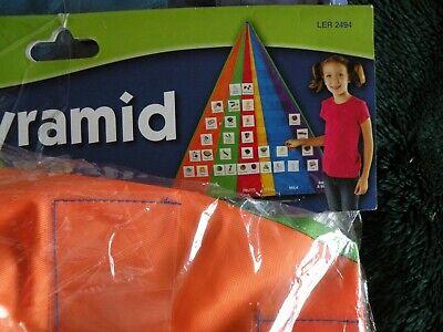The Food Pyramid Pocket Chart and Card Set Learning Resources Pocket Charts B6