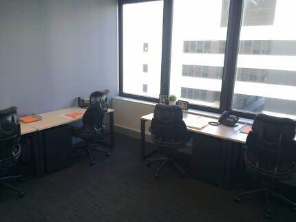 2 Person Office on the Fringe of CBD/Docklands ALL INC $141/wk