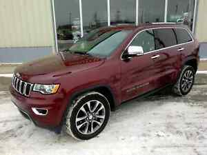 2018 Jeep Grand Cherokee Limited 4x4 - Fully Loaded