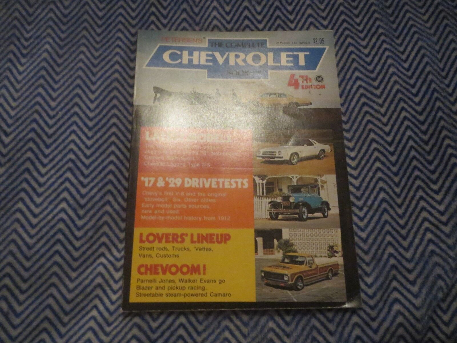 1975 PETERSENS THE COMPLETE CHEVROLET BOOK LATEST MODELS DRIVE TESTS AND MORE!
