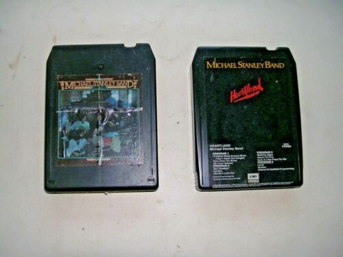 MICHAEL STANLEY BAND 8 TRACK LOT: CABIN FEVER, HEARTLAND