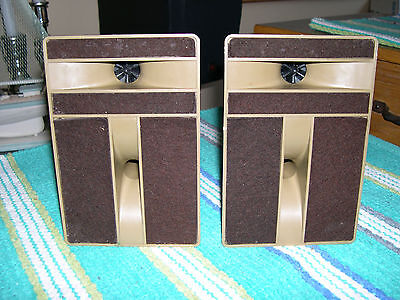 Vintage 1969 BIC Formula 5 horn tweeter & mid range speakers