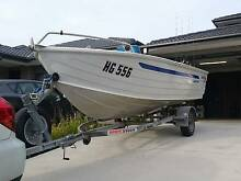 Great fishing boat - 2003 Quintrex 445 Dory Keysborough Greater Dandenong Preview