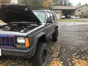 1993 Jeep Cherokee sport for sale would trade for working truck