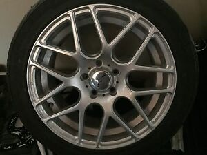 Tires and rims 17 inch  5x112
