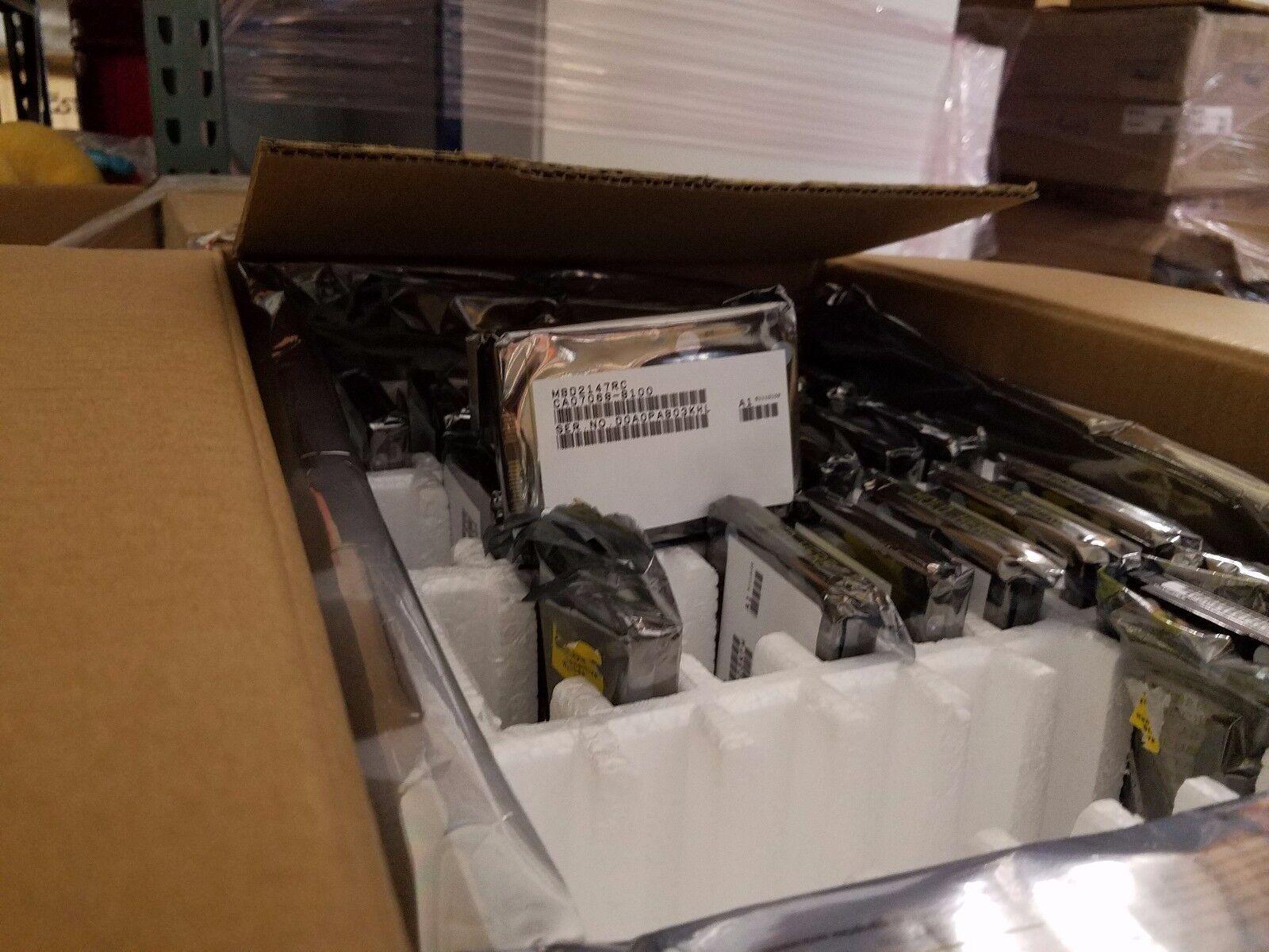 """Lot Of 20 Sealed Fujitsu 147gb 10k 2.5"""" Sas Mbd2147rc Har..."""