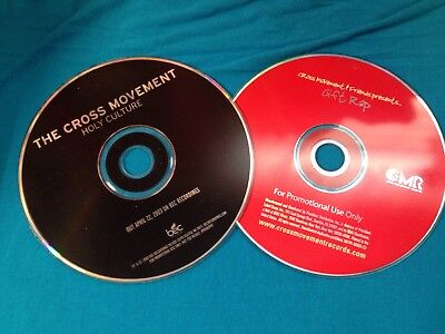 RARE The Cross Movement & Friends Promo CD Lot Holy Culture Gift Rap Flame Tonic