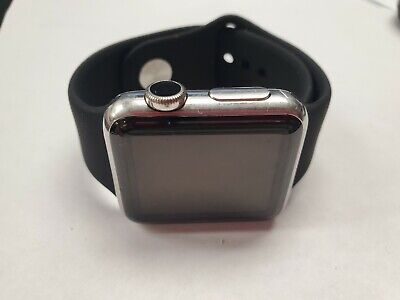 apple watch 316l 38MM stainless steel sapphire crystal CERAMIC *A GRADE