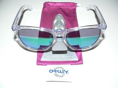 Oakley Frogskins Collectors Crystal Clear Jade Jupiter Garage Sonnenbrille Latch