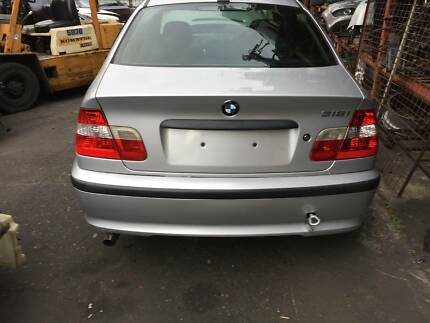 BMW 3-Series Sedan BMW 318I E46 N42 YEARS FROM 1998 TO 2006 SILVE Northmead Parramatta Area Preview