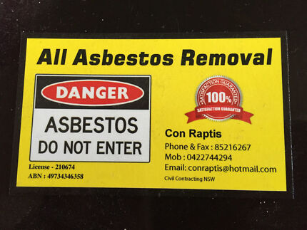 All Asbestos Removals NSW