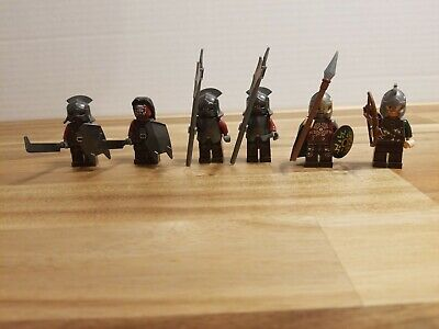 Authentic Lego Minifig Lot 9471 Lord Of The Rings 2012 Uruk-Hai Army