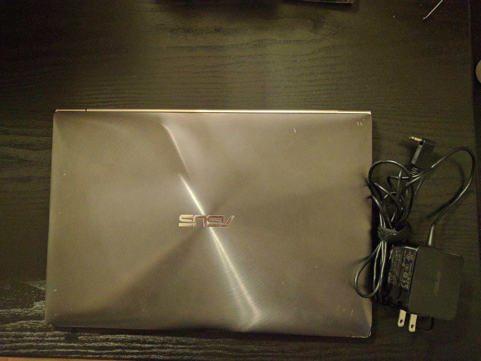 """Asus Zenbook UX31A-R5102F 13.3"""" Laptop Intel 128GB SSD Core i5 4GB 1080P"""