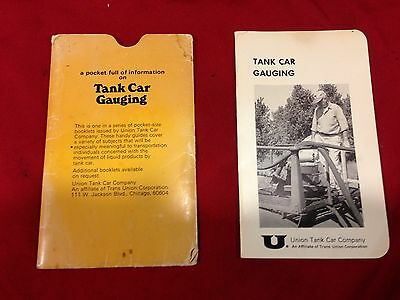 Vintage Propane Training Materials -union Tank Car Gauging Manual Circa 1968