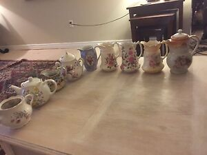 Assortment of Vintage Antique Tea Pots & Pitchers - $70 Kitchener / Waterloo Kitchener Area image 1