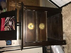 Wood Night stand/table