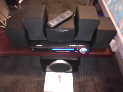 Thompson home theater dvd system