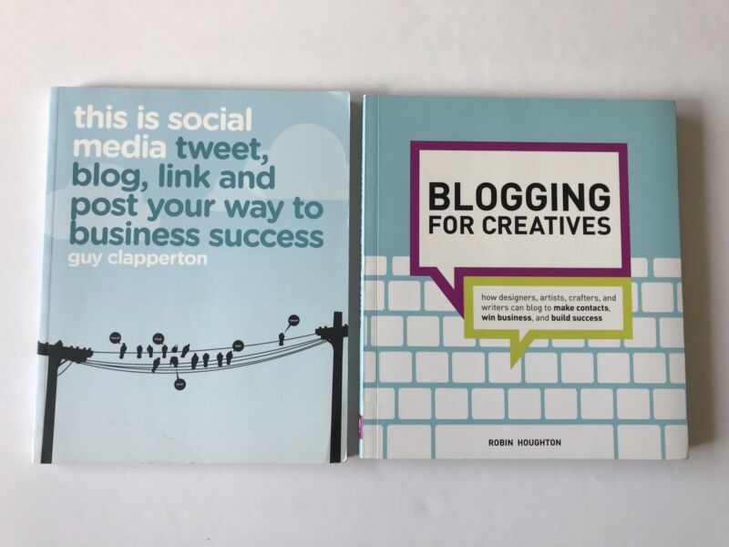 this is social media tweet blog link and post your way to business success english edition