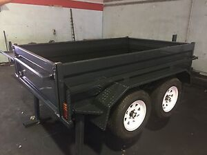 AUSSIE BUILT 8x5 HEAVY DUTY TANDEM TRAILER NEW TYRES & RIMS Toowoomba Region Preview