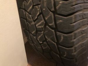 Ford F-150 spare tire and rim