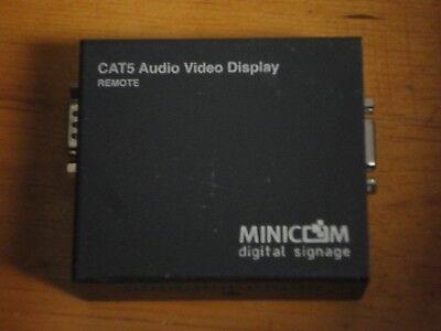 Minicom Cat5 Audio Video Display - Kramer MINICOM Digital Singage AVDS-R CAT5 Audio Video Display 0VS23009