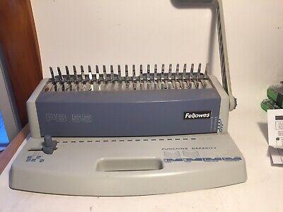 Fellowes Plastic Comb Binding Machine Pb 100 Pre-owned