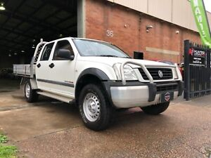 2003 Holden Rodeo LX 3.5L V6 4X4 Manual Dual cab Ute - Alloy tray