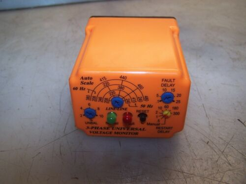 DIVERSIFIED ELECTRONICS 3 PHASE VOLTAGE MONITOR SLU-100-ASA