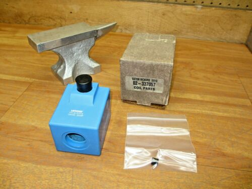 Eaton Vickers 02-337057 *NEW* Hydraulic Valve Coil Assy 02-337016  125VDC